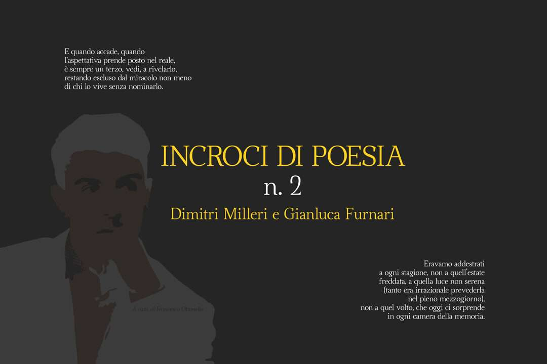 "Copertina ""Incroci di poesia n. 2"" - Dimitri Milleri e Gianluca Furnari"